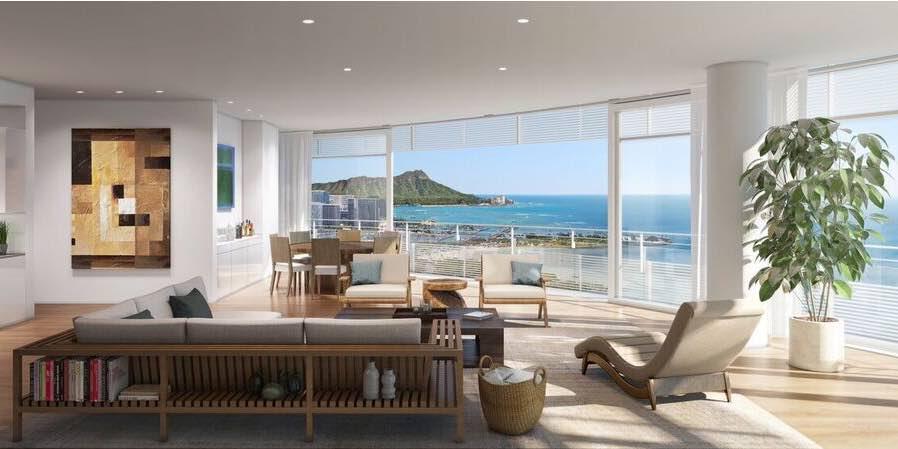 Honolulu 39 s 8 luxury ultra luxury condos for Luxury condo living