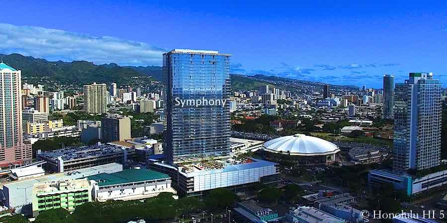 Symphony Honolulu Condo in Kakaako