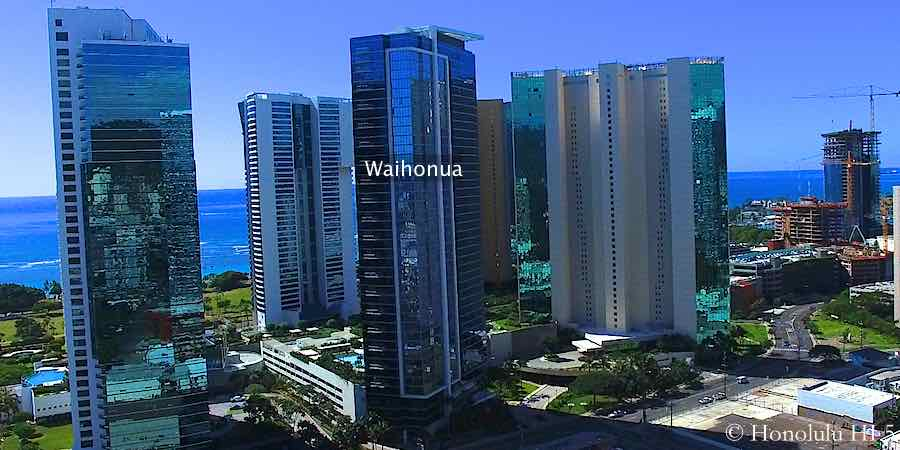 Waihonua Condo in Kakaako