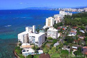 Diamond Head Gold Coast Condos - Aerial Photo