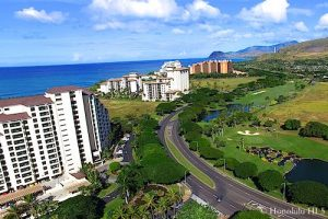 Ko Olina Hotels - Aerial Photo