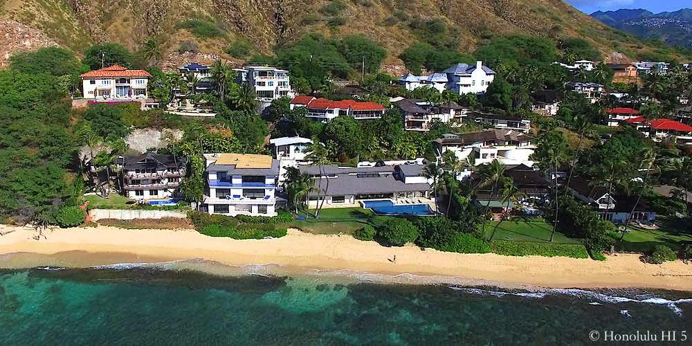 Diamond Head Beachfront Homes