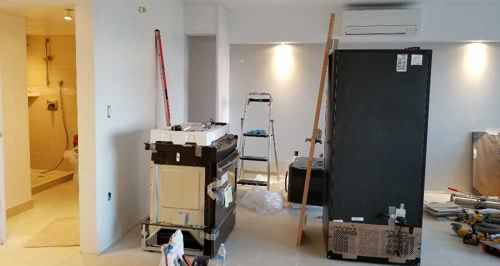 Week 10 - New Split AC installed