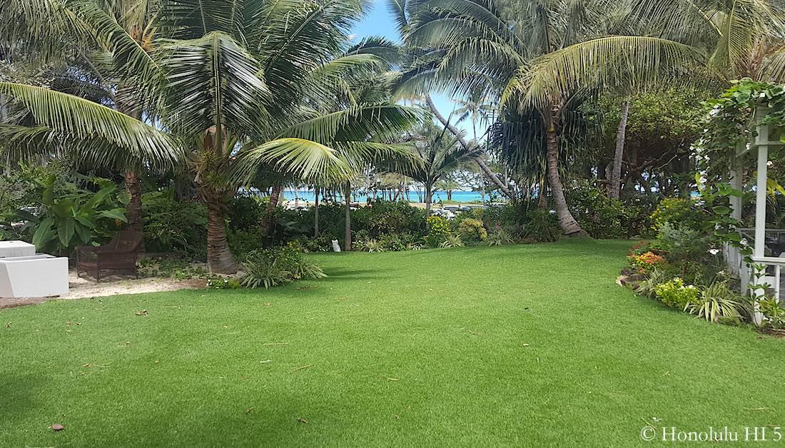 Kailua Fixer Upper - After Remodel Backyard
