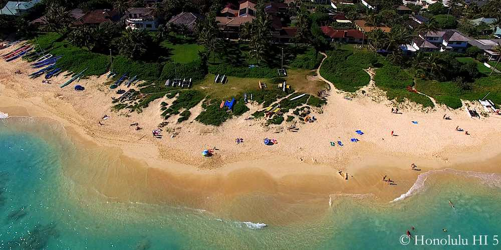 Lanikai Beach - Drone Photo